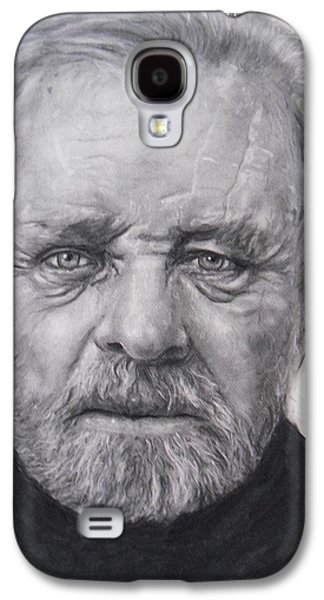 Anthony Hopkins Galaxy S4 Case by Adrienne Martino