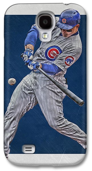 Anthony Rizzo Chicago Cubs Art 1 Galaxy S4 Case by Joe Hamilton