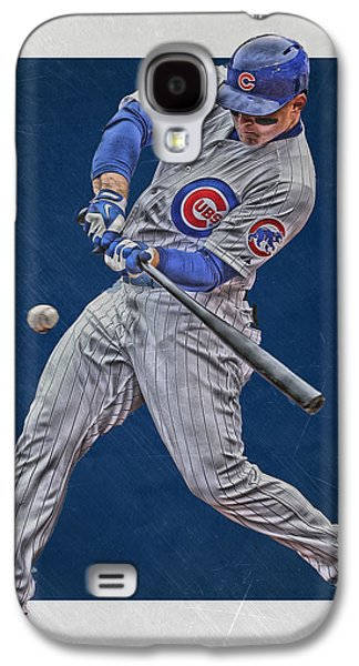Anthony Rizzo Chicago Cubs Art 1 Galaxy S4 Case