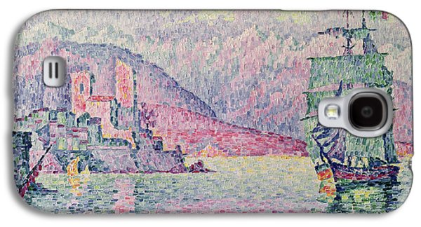 Impressionism Galaxy S4 Case - Antibes by Paul Signac