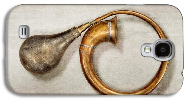 Antique Brass Car Horn Galaxy S4 Case by YoPedro