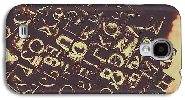 Antique Enigma Code Galaxy S4 Case by Jorgo Photography - Wall Art Gallery