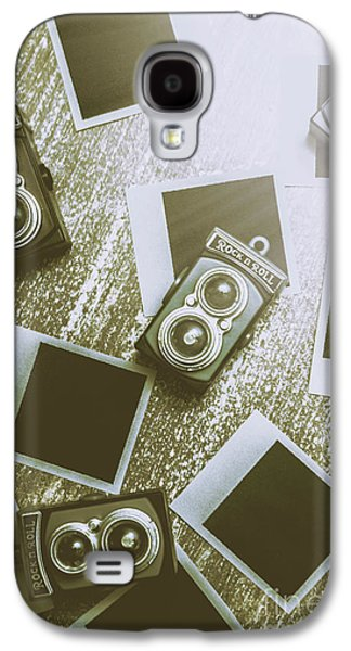 Antique Film Photography Fun Galaxy S4 Case by Jorgo Photography - Wall Art Gallery