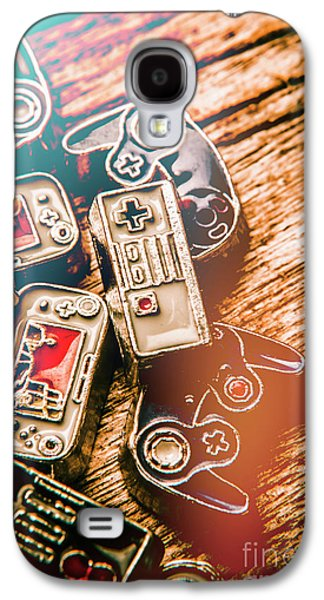 Antique Gaming Consoles Galaxy S4 Case by Jorgo Photography - Wall Art Gallery
