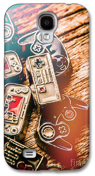 Antique Gaming Consoles Galaxy S4 Case