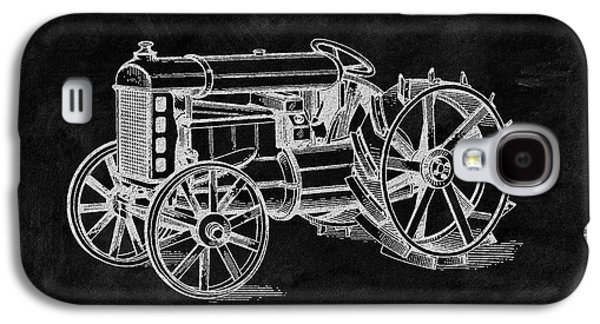 Antique Henry Ford Design Tractor Galaxy S4 Case