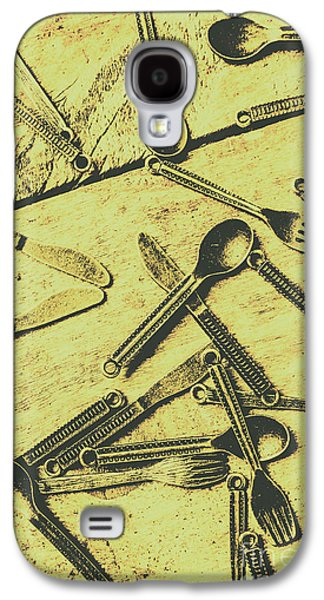 Antique Kitchen Setting Galaxy S4 Case by Jorgo Photography - Wall Art Gallery