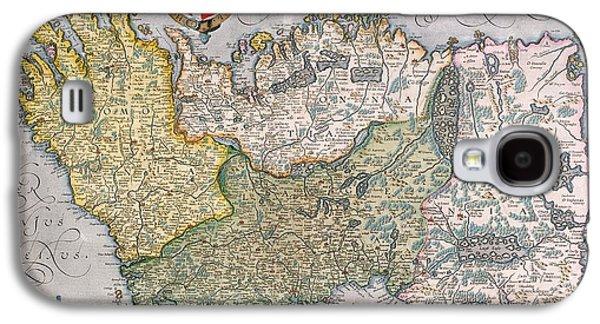 Antique Map Of Ireland Galaxy S4 Case