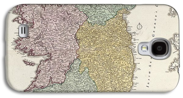 Antique Map Of Ireland Showing The Provinces Galaxy S4 Case