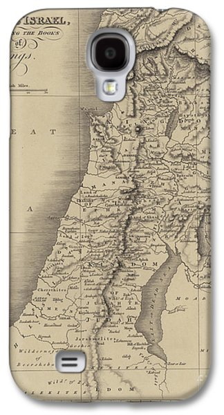 Antique Map Of Judah And Israel Galaxy S4 Case