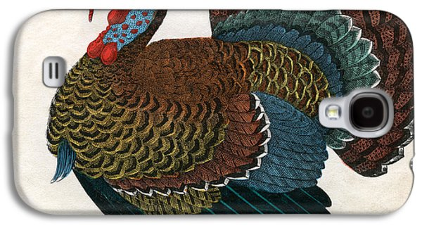 Antique Print Of A Turkey, 1859  Galaxy S4 Case