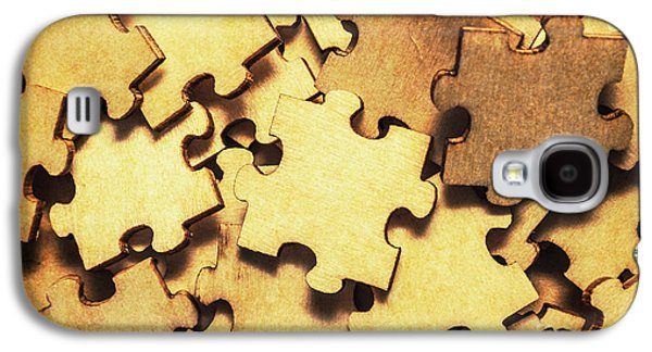 Antique Puzzle Of Missing Links Galaxy S4 Case by Jorgo Photography - Wall Art Gallery