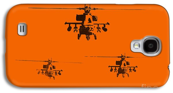 Helicopter Galaxy S4 Case - Apache Dawn by Pixel  Chimp