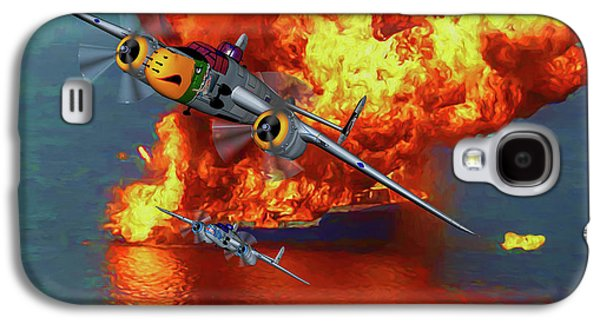 Apache Strike - Oil Galaxy S4 Case