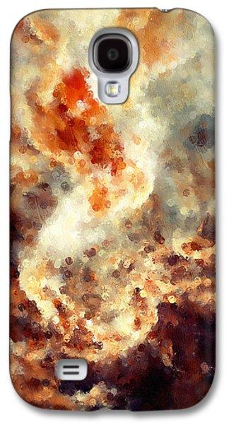 Apocalyptic Abstract Galaxy S4 Case by Georgiana Romanovna