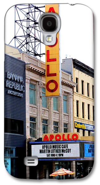 Apollo Theater Galaxy S4 Case