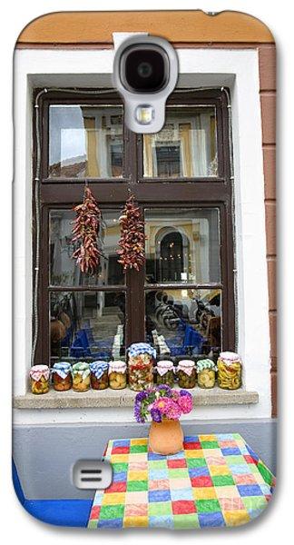 Apothecary Jars On Windowsill  Galaxy S4 Case by Madeline Ellis