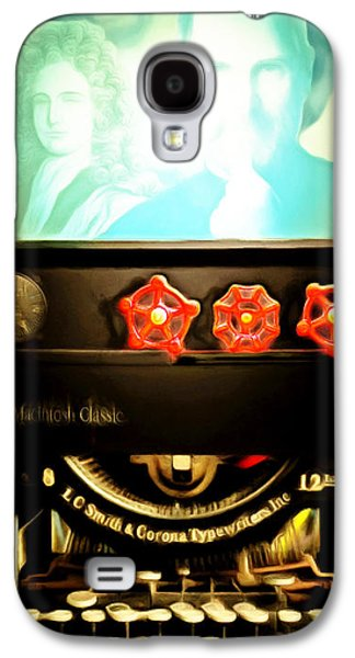 Galaxy S4 Case featuring the photograph Apple Announcement Introducing The I-steampunk One 20160321 by Wingsdomain Art and Photography