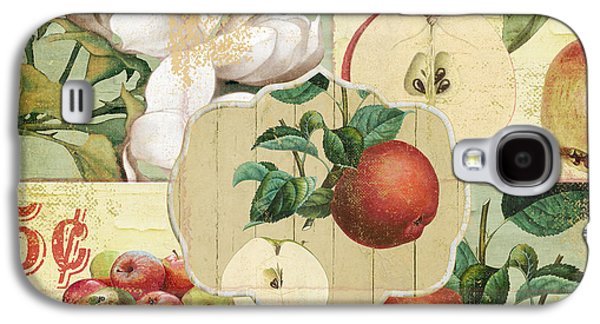 Apple Blossoms Patchwork Iv Galaxy S4 Case