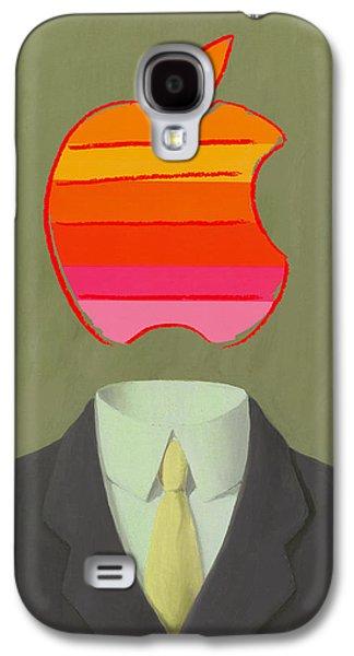 Apple-man-6 Galaxy S4 Case
