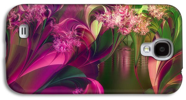 Apple Peel Brook Galaxy S4 Case by Mindy Sommers