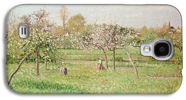 Apple Trees At Gragny Galaxy S4 Case by Camille Pissarro