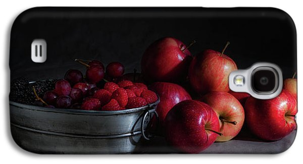 Apples And Berries Panoramic Galaxy S4 Case by Tom Mc Nemar