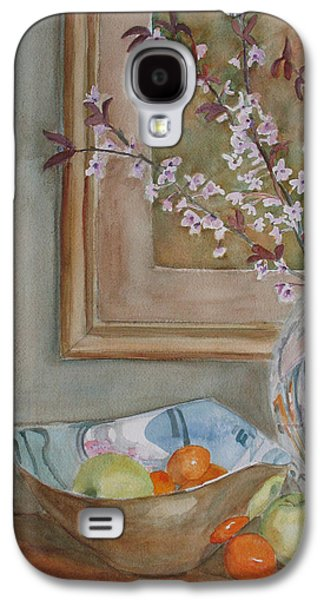 Cherry Blossoms Galaxy S4 Cases - Apples and Oranges Galaxy S4 Case by Jenny Armitage