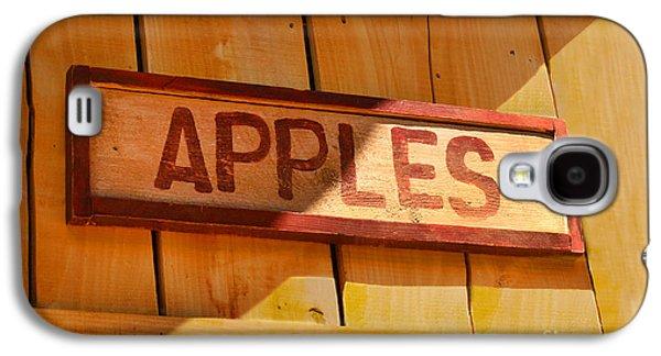 Apples For Sale Galaxy S4 Case by Jennifer Apffel