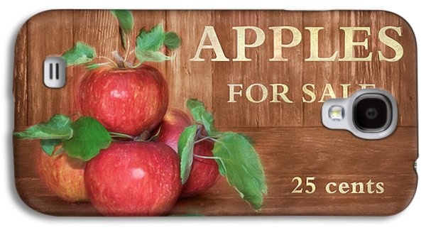 Apples For Sale Galaxy S4 Case by Lori Deiter