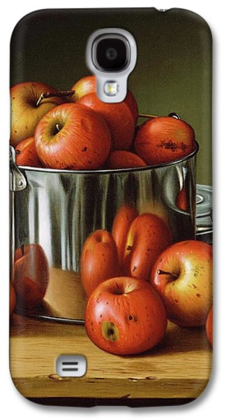 Apples In A Tin Pail Galaxy S4 Case