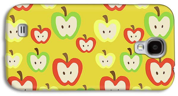 Apples Galaxy S4 Case by Nicole Wilson