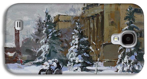 April Snow By The Nacc Galaxy S4 Case by Ylli Haruni