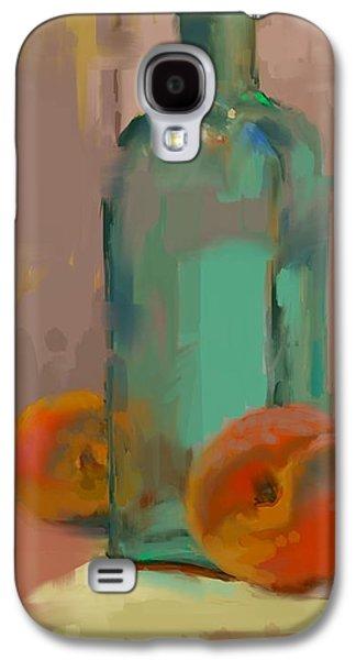 Aqua Bottle Galaxy S4 Case