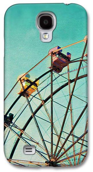 Aquamarine Dream - Ferris Wheel Art Galaxy S4 Case