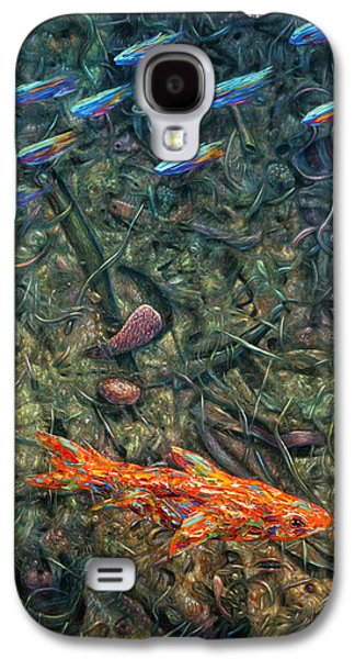 Aquarium 2 Galaxy S4 Case by James W Johnson