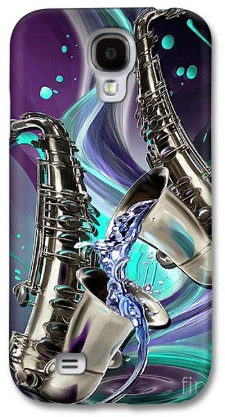 Aquarius Galaxy S4 Case by Melanie D
