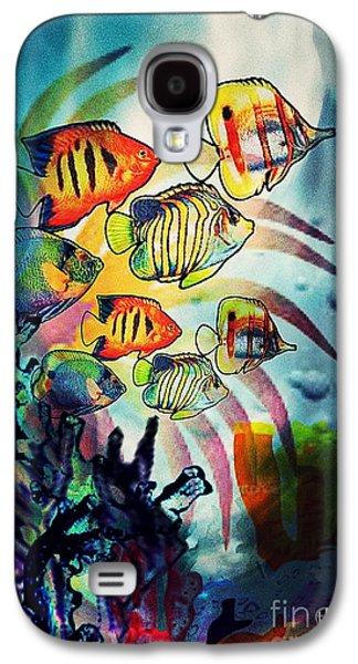 Aquatic Beauty 2 Galaxy S4 Case