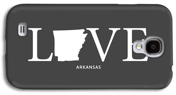 Ar Love Galaxy S4 Case by Nancy Ingersoll