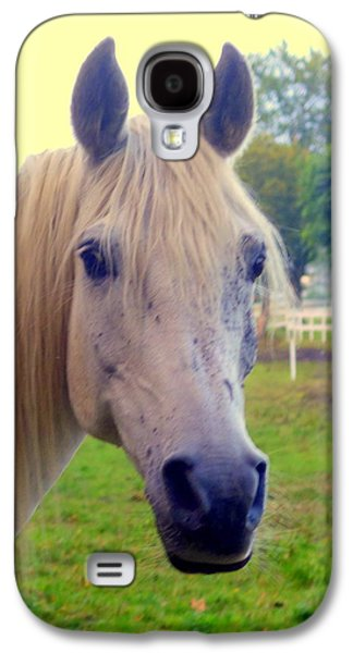 Whenever You Will Face The Arab Horse Galaxy S4 Case by Hilde Widerberg