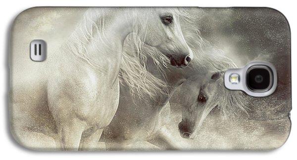 Arabian Horses Sandstorm Galaxy S4 Case