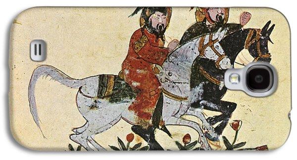 Arabic Horseman 1210 Galaxy S4 Case by Granger