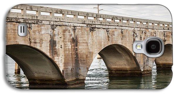 Arches Of East Coast Railway In Florida Keys Galaxy S4 Case by Elena Elisseeva