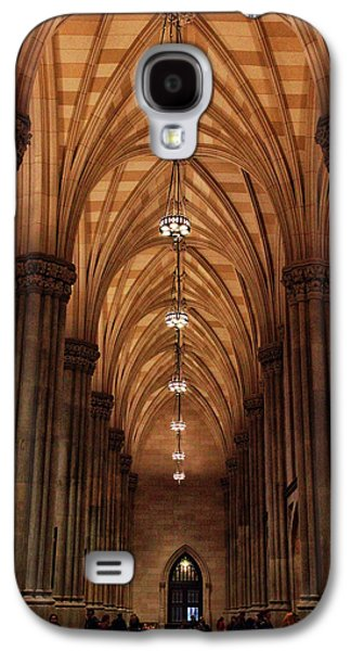 Galaxy S4 Case featuring the photograph Arches Of St. Patrick's Cathedral by Jessica Jenney