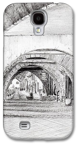 Arches Sauveterre France Galaxy S4 Case by Vincent Alexander Booth