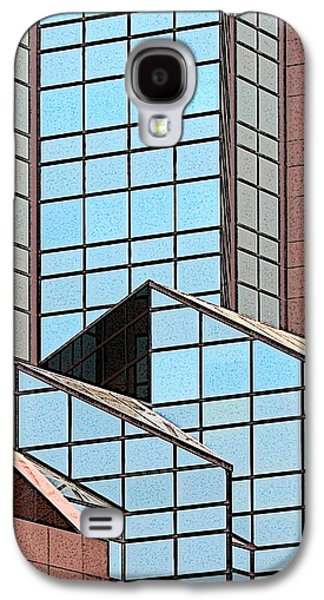 Architectural Abstract Number 4 Galaxy S4 Case by Ben Freeman