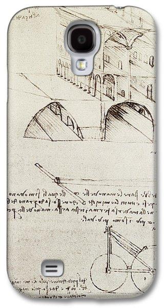 Architectural Study Galaxy S4 Case by Leonardo Da Vinci