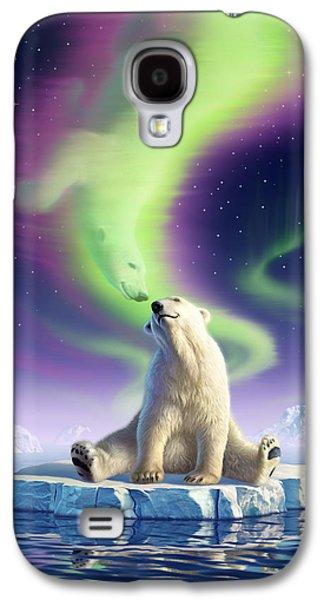 Arctic Kiss Galaxy S4 Case by Jerry LoFaro
