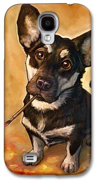 Dog Galaxy S4 Case - Arfist by Sean ODaniels