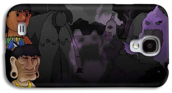 Design Galaxy S4 Case - Aritana And The Harpy's Feather by Maye Loeser